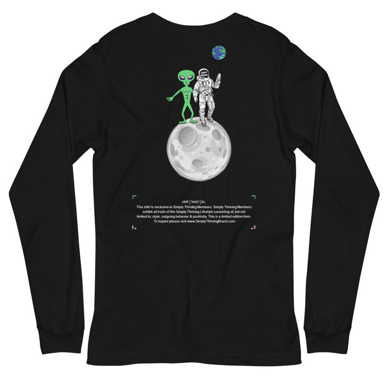 Simply Space Friends LS Tee