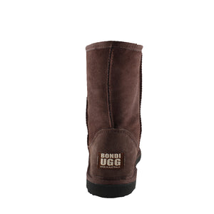 BONDI UGG by Waratah ® Classic Short Sheepskin Boot - Chocolate