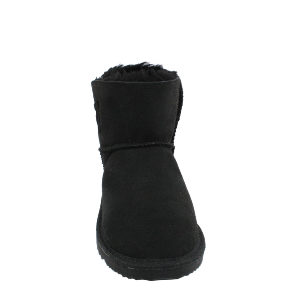 BONDI UGG Crystal Button Short Boot - Black