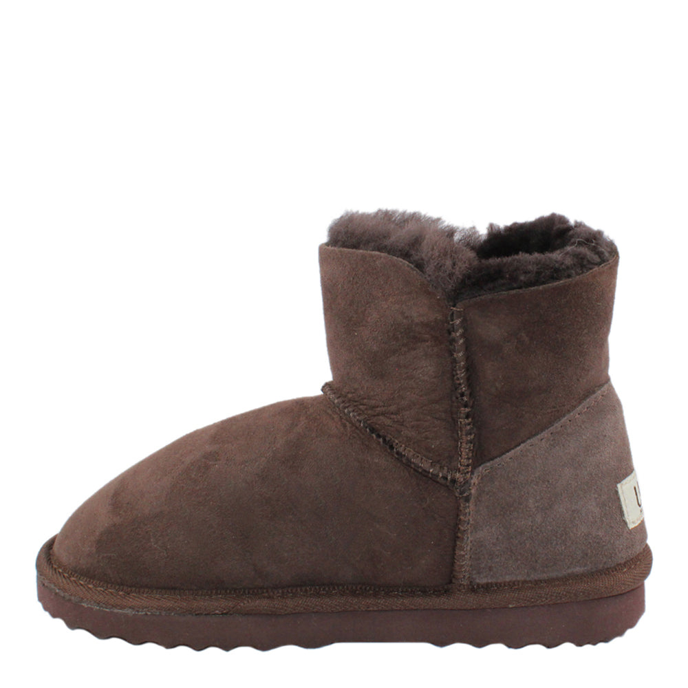 BONDI UGG Button Short Boot - Chocolate