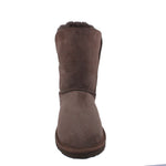BONDI UGG Button 3/4 Boot - Chocolate