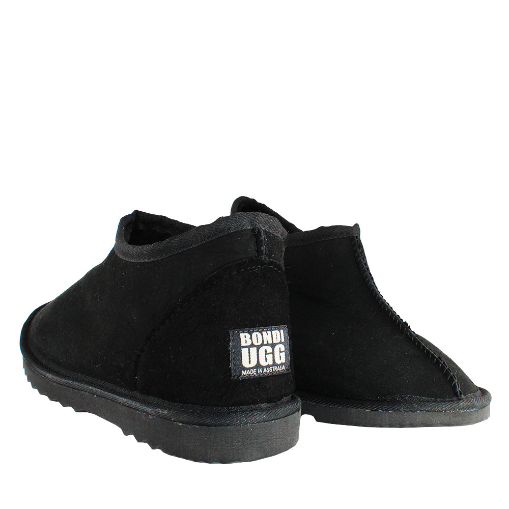 BONDI UGG by Waratah ® Classic Slipper - Black