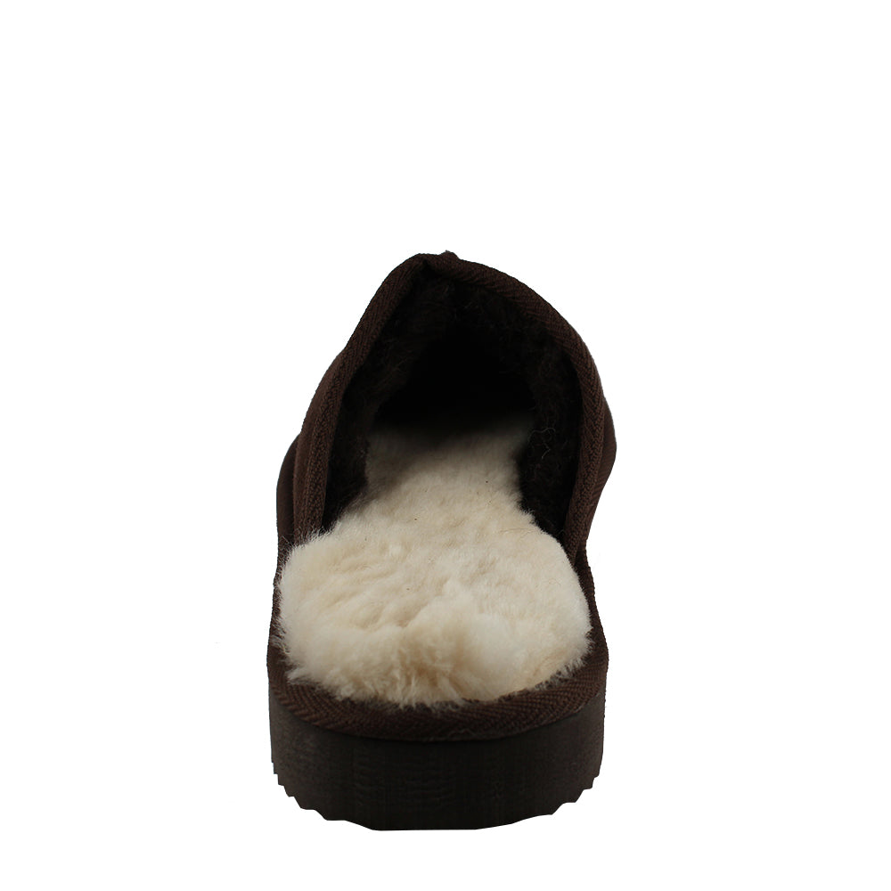 BONDI UGG by Waratah ® Classic Sheepskin Scuff - Chocolate