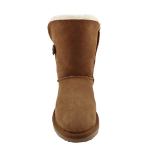 BONDI UGG Crystal Button 3/4 Boot - Chestnut