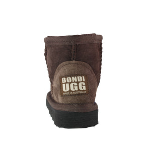 BONDI UGG by Waratah ® KIDS Classic Mini Sheepskin Boots - Chocolate