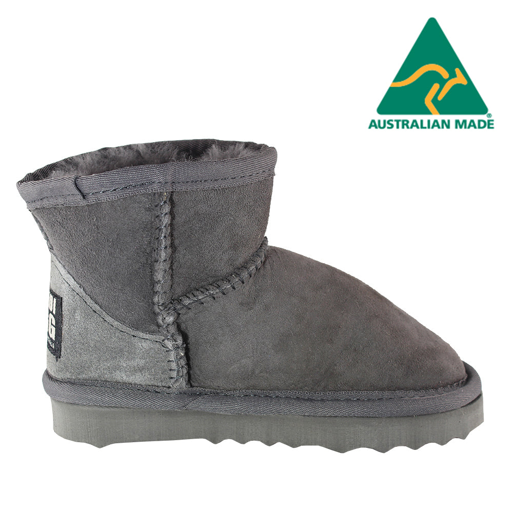 BONDI UGG Kids Classic Short Boot - Grey