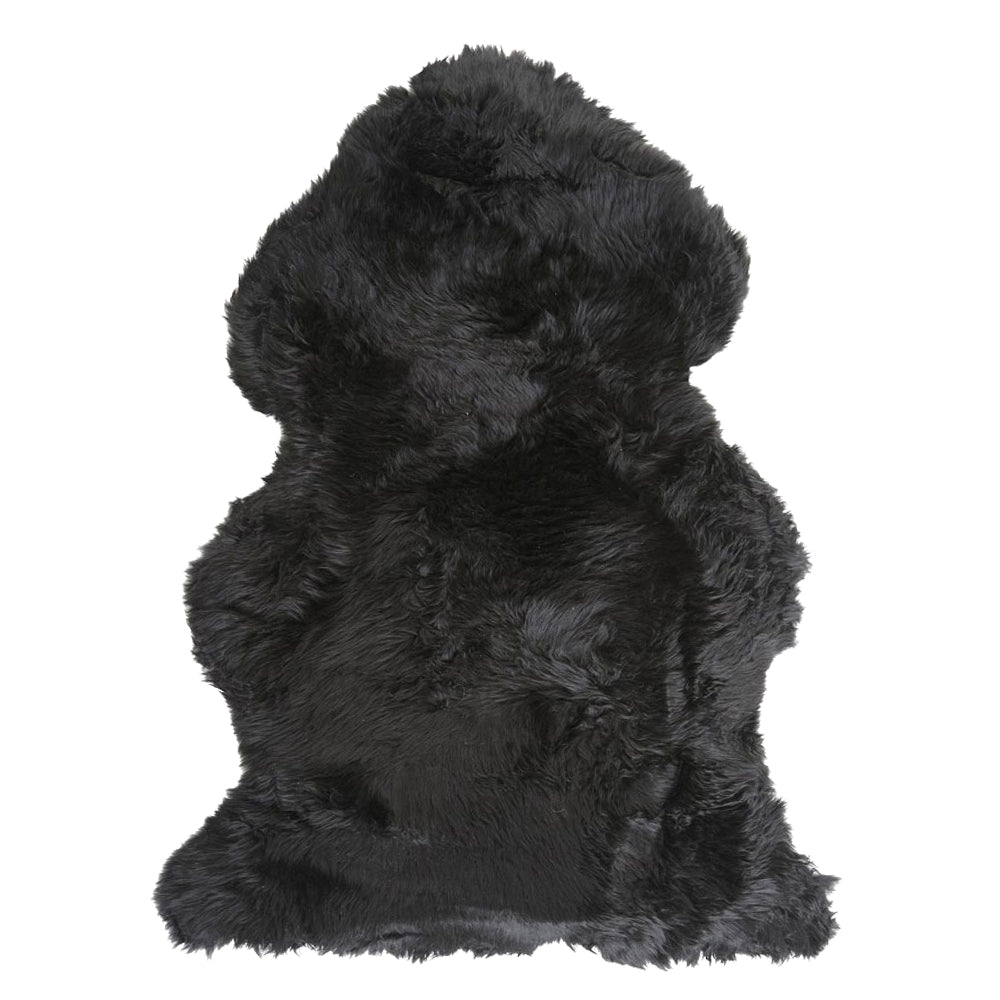 Merino Sheepskin Rug - Black