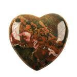 Australian Rainforest Jasper Heart - A