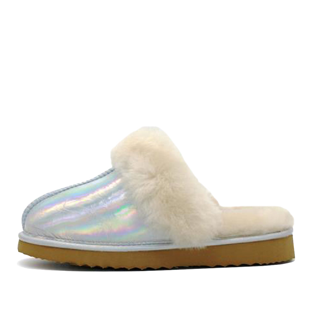 WARATAH UGG® Holographic Ladies Scuff - Star Dust
