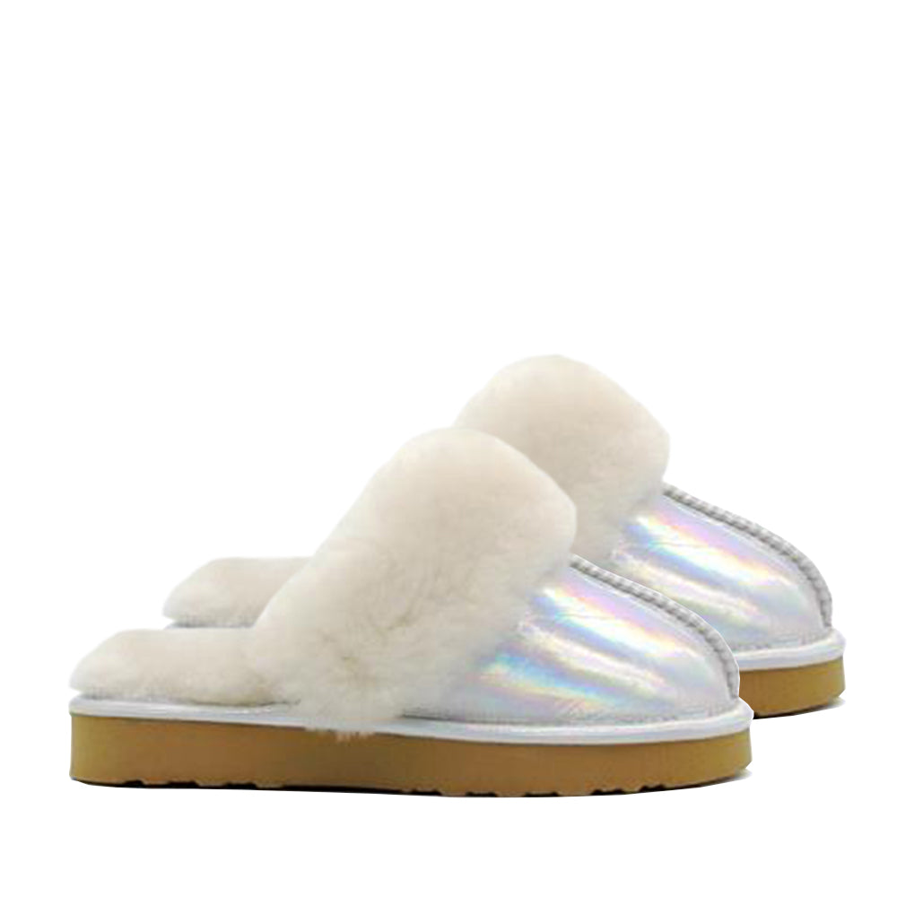 Waratah UGG® Holographic Kids Scuff - Star Dust