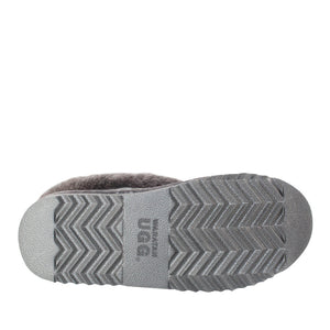 WARATAH UGG® Wool Collar Slipper - Grey
