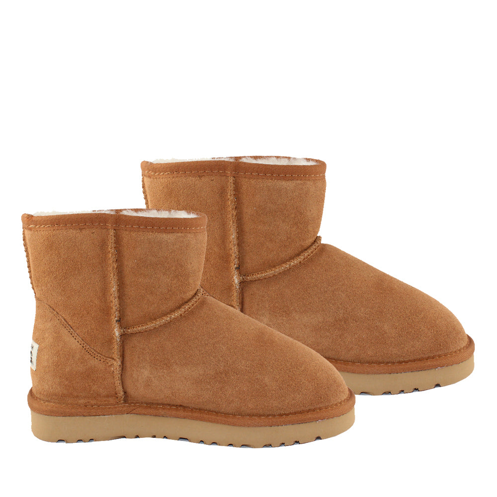 WARATAH UGG® Water Resistant Mini Boot - Chestnut