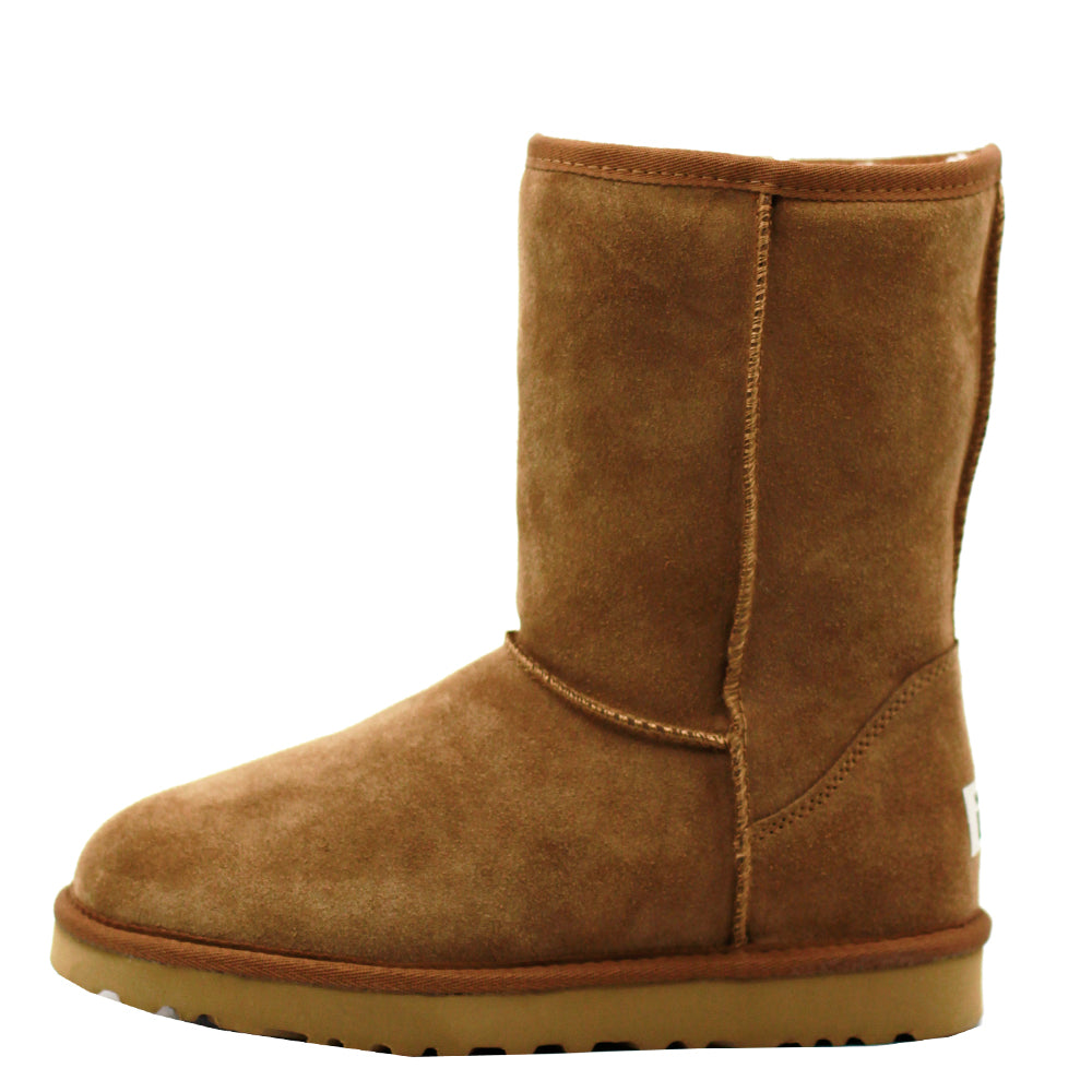 WARATAH UGG® Unisex Water Resistant Mid Zip Up Boot - Chestnut