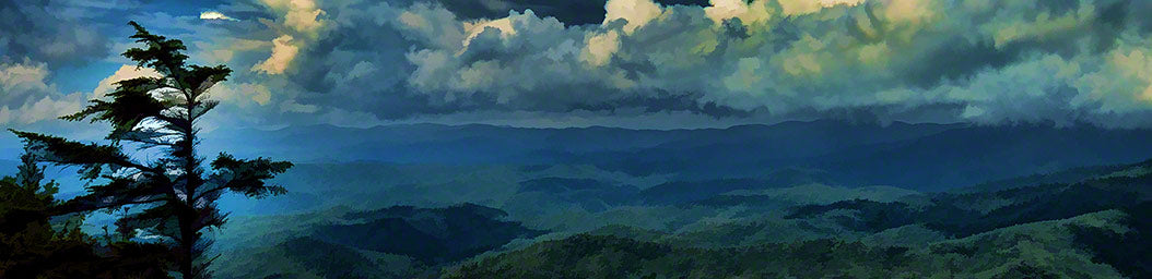 Mountain Clouds by Alison Thomas of Serenity Scenes Photography and Digital Art.
