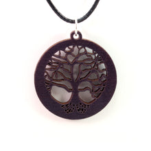 Load image into Gallery viewer, Tree of Life Sustainable Wooden Pendant - Available in 3 sizes and 4 wood types