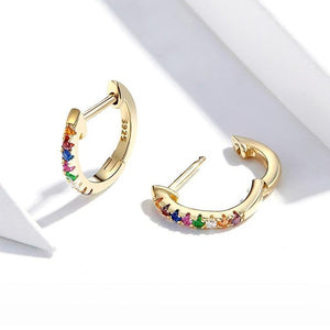 Prato Hoop Earrings