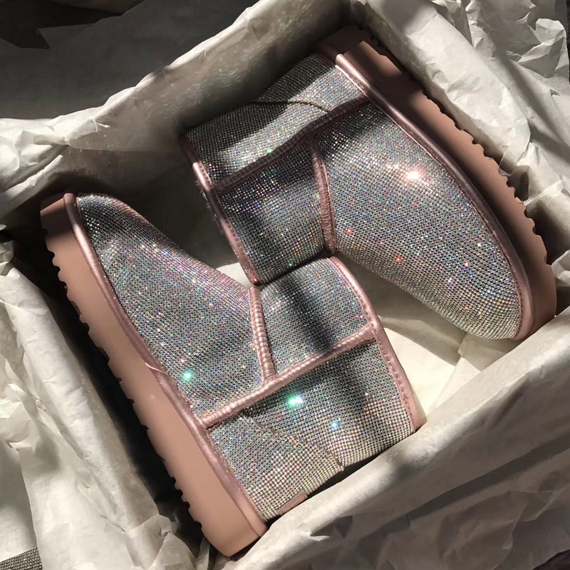 Boujie Sparkly UGGS