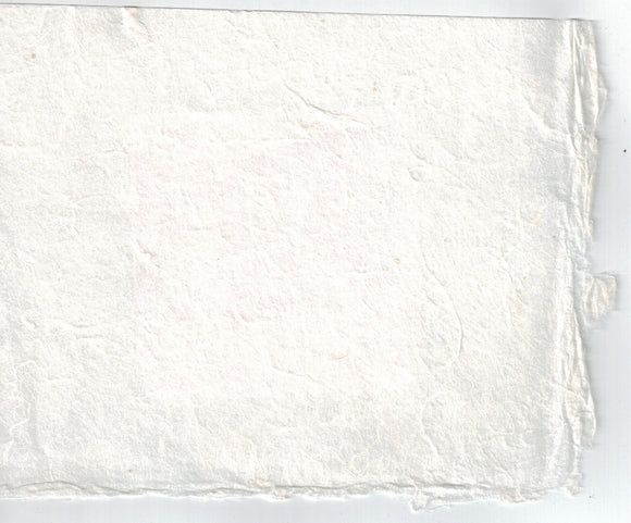 Handmade Paper - Cloud White
