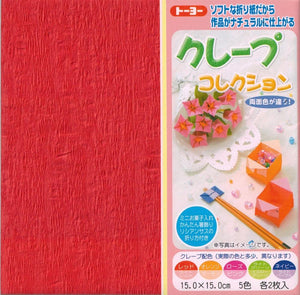 Crepe Double-sided Origami Paper