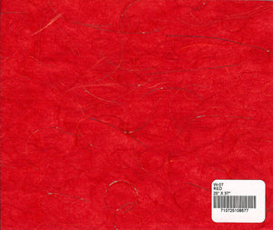 Wealth Unryu Paper - Red