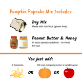 Pumpkin Pupcake Mix