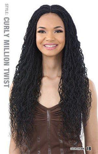 Equal Braided Wig - Curly Million Twist