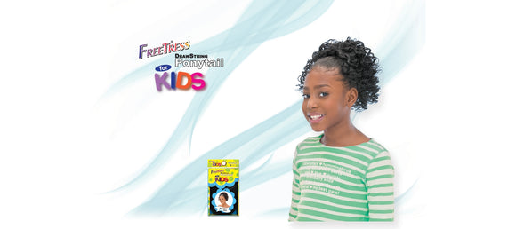 Freetress - Kid Twirl Curl Ponytail