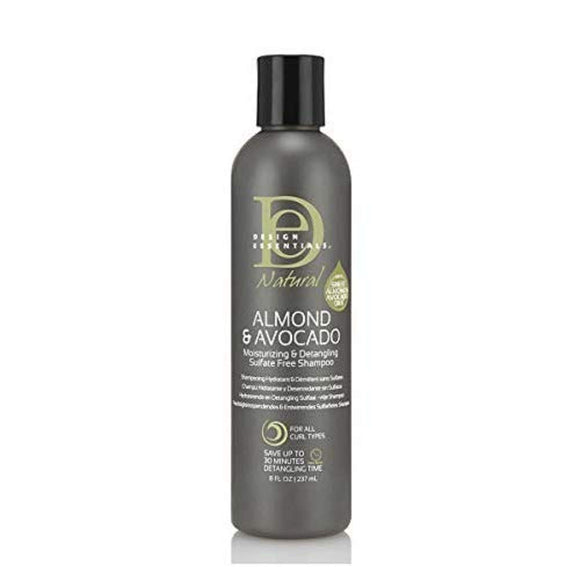 Design Essentials Almond & Avocado Detangling Shampoo