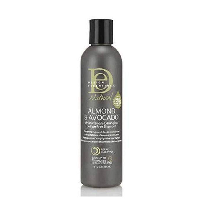 Design Essentials Natural Al/Avocado Detangling Shampoo