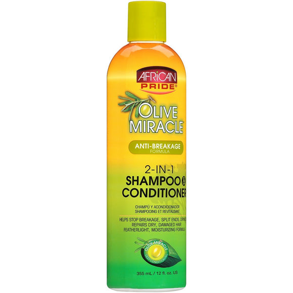 African Pride 2-in-1 Shampoo & Conditioner