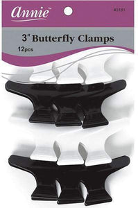 "Annie 3"" Butterfly Clamps"