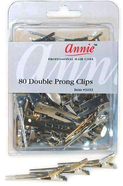Annie Metal Double Prongs 80ct