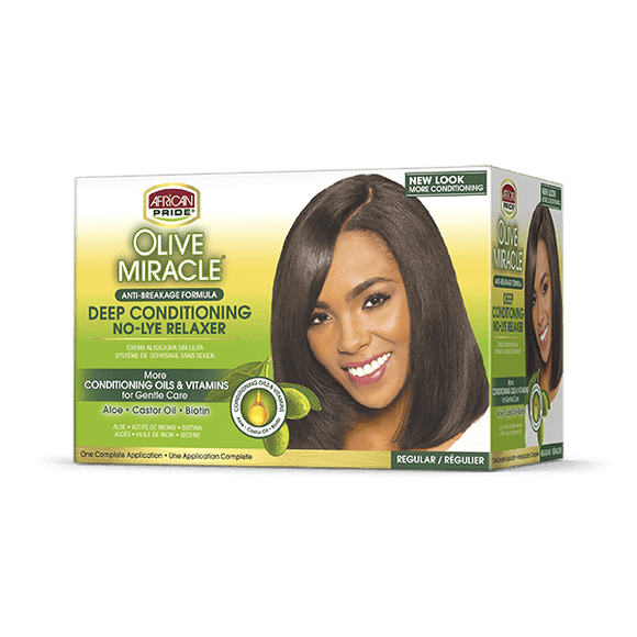 African Pride Olive Relaxer Kit