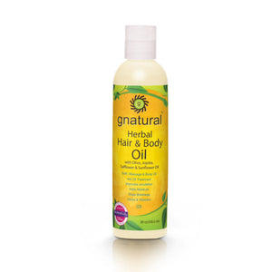 gnatural Hair and Body Oil