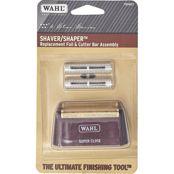 Wahl Gold Replacement Foil & Bar