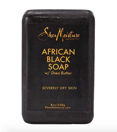 Shea Moisture African Black Soap Bar 4oz