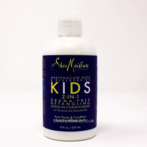 Shea Moisture Kids 2 in 1 Marshmallow and Blueberry Leave-In Conditioner