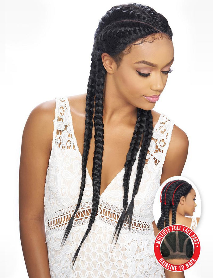 Kima Braided Lace Wig
