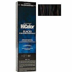L'OREAL HiColor Black Permanent Hair Color