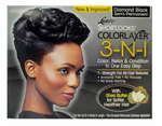 Lusters Pink 3-in-1 Color Relaxer Kit