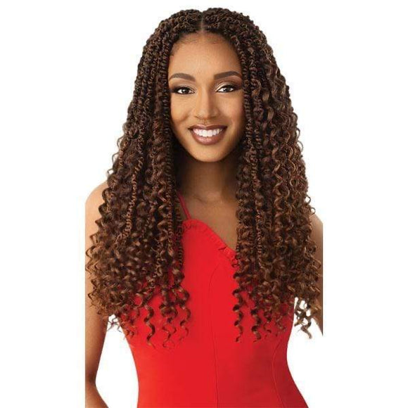 Outre Twisted Up Boho Wavy Bomb Twist