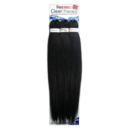 Freetress 3x Clean Therapy Pre-stretched Braiding Hair (52