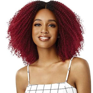 Outre Big Beautiful Hair Lace Wig - Crown Curls (4B)