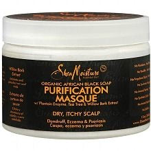 Shea Moisture Black Soap Purification Masque (Dry Scalp)