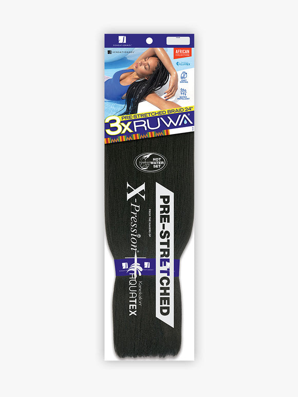 "Sensationnel - 3x RUWA Pre-stretched Braid (24"")"