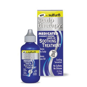Sulfur 8 Scalp Therapy Medicated Soothing Treatment