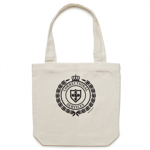 WENTWORTH - Canvas Tote Bag - Dual Logo