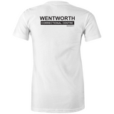 WENTWORTH - Womens Crew T-Shirt - Dual Logo
