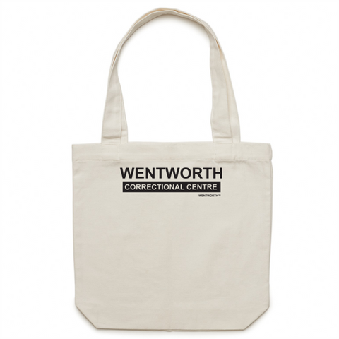 WENTWORTH - Canvas Tote Bag- Logo Large