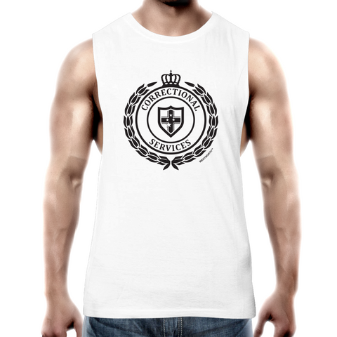 WENTWORTH - Mens Tank Top Tee - Dual Logo